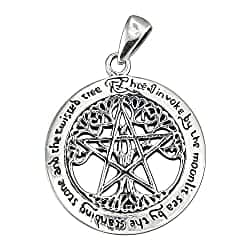 Tree Pentacle Pentagram
