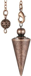 Bronze Metal Copper Spiritual Point Pendulum